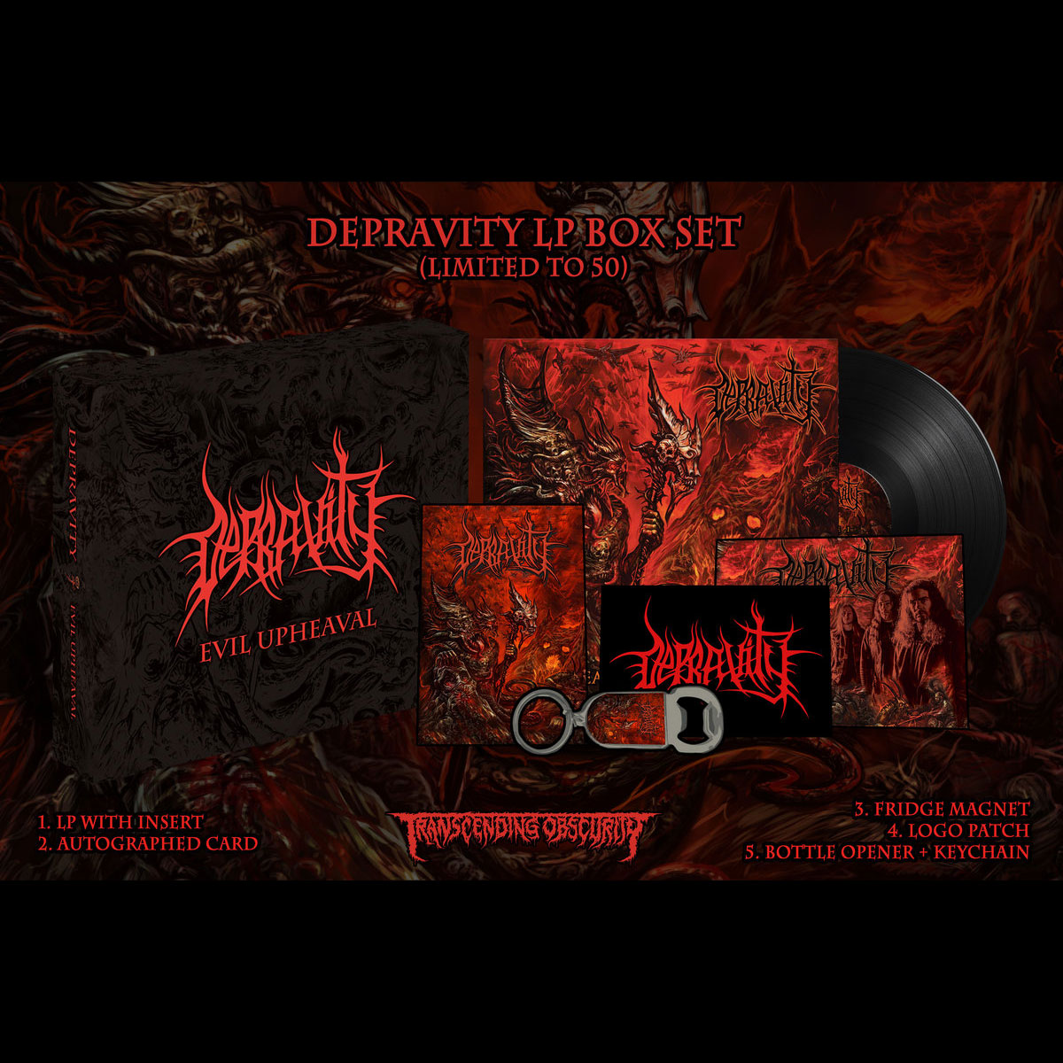 Evil Upheaval LP Box Set (Death Metal)