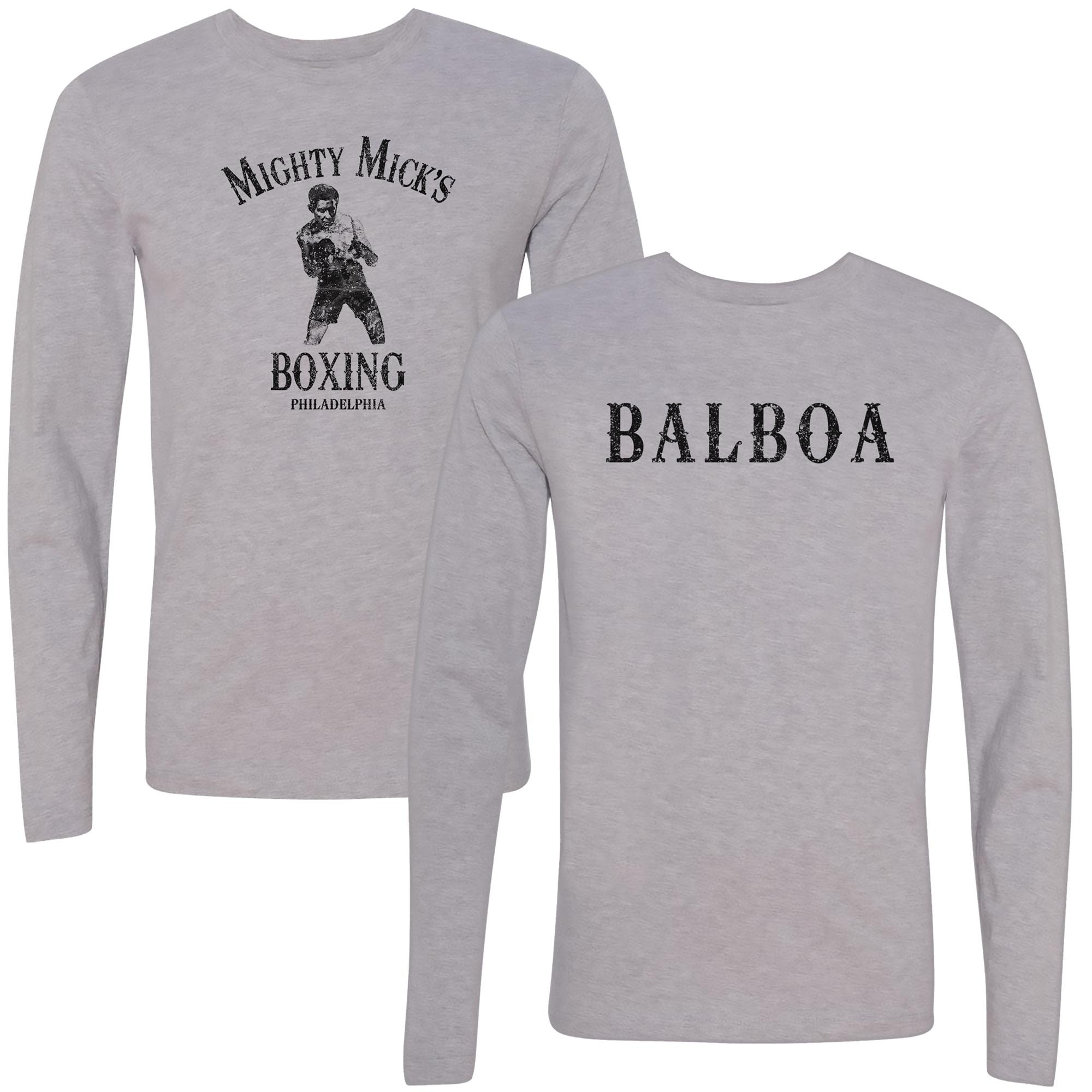 Mighty Mick's Boxing Longsleeve Balboa Tee