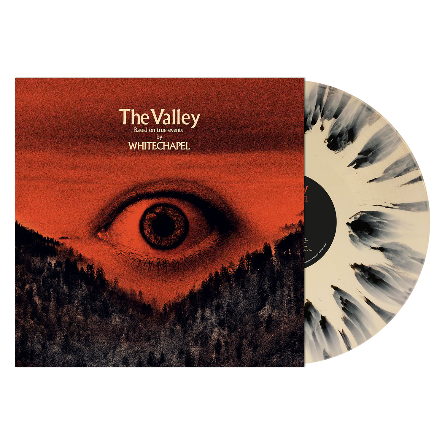 The Valley - LP Splatter Bundle - Brimstone