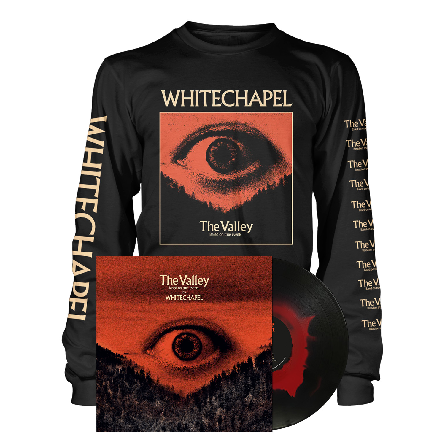 The Valley - LP Haze Bundle - Longsleeve