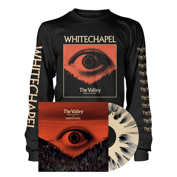 The Valley - LP Splatter Bundle - Longsleeve