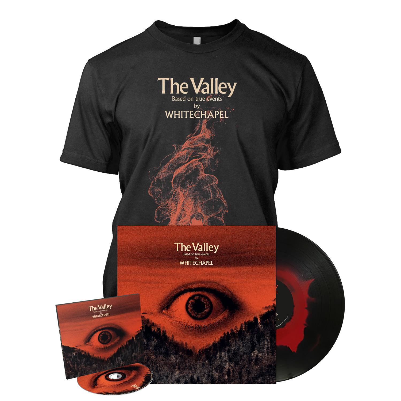 Whitechapel Quot The Valley Deluxe Cd Haze Bundle