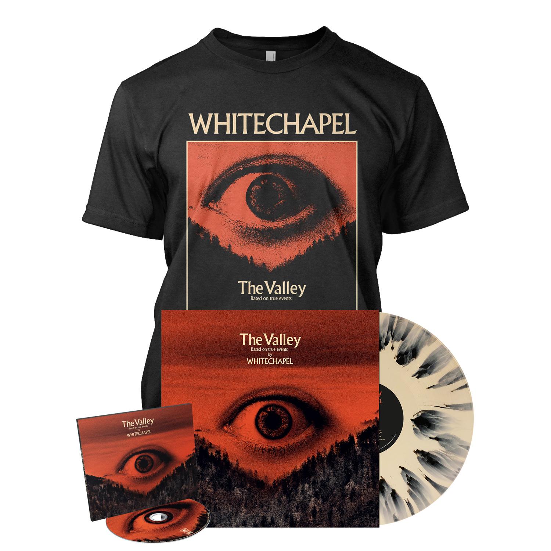 The Valley - Deluxe CD Splatter Bundle - Valley
