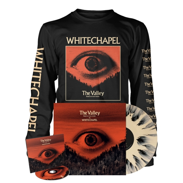 The Valley - Deluxe CD Splatter Bundle - Longsleeve