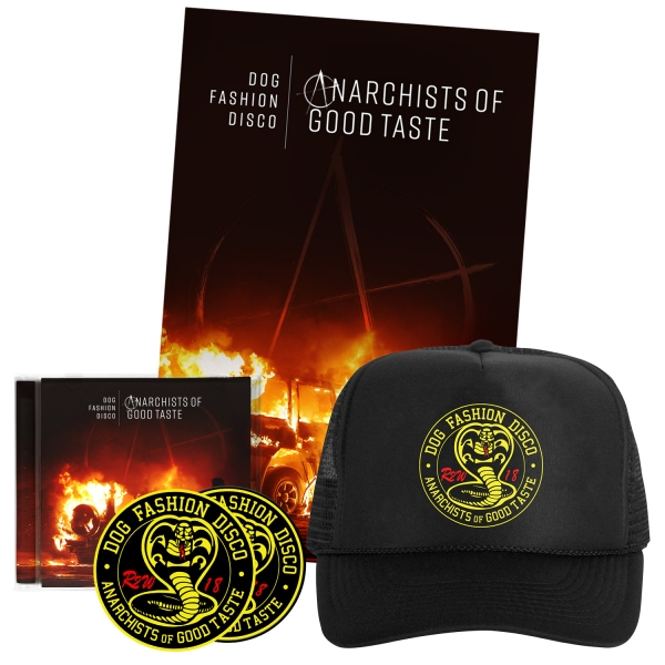 CD/Patch/Sticker/Poster/Hat Bundle