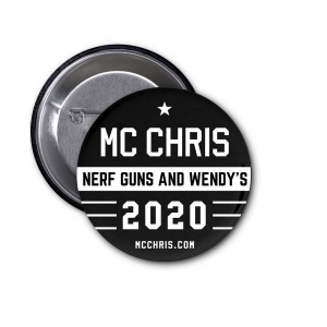mc chris 2020 beto button