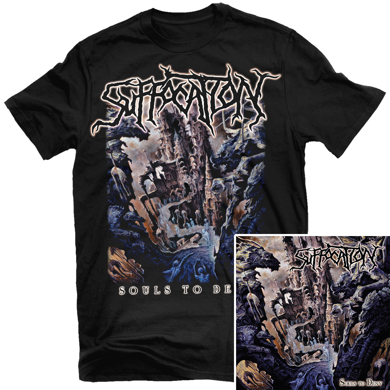 Souls To Deny T Shirt + LP Bundle