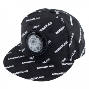 Cyrillic Pattern Keep Watch Flicker Cap