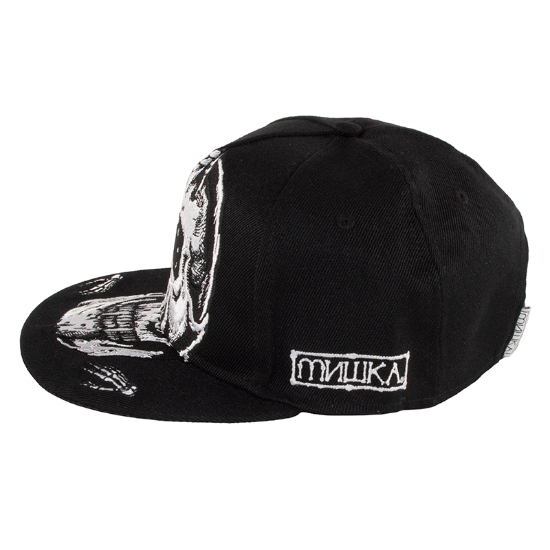 Oversized Simon Buckle Cap