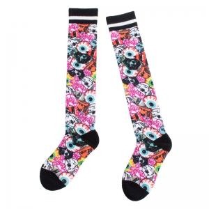 Logo Collage High Socks