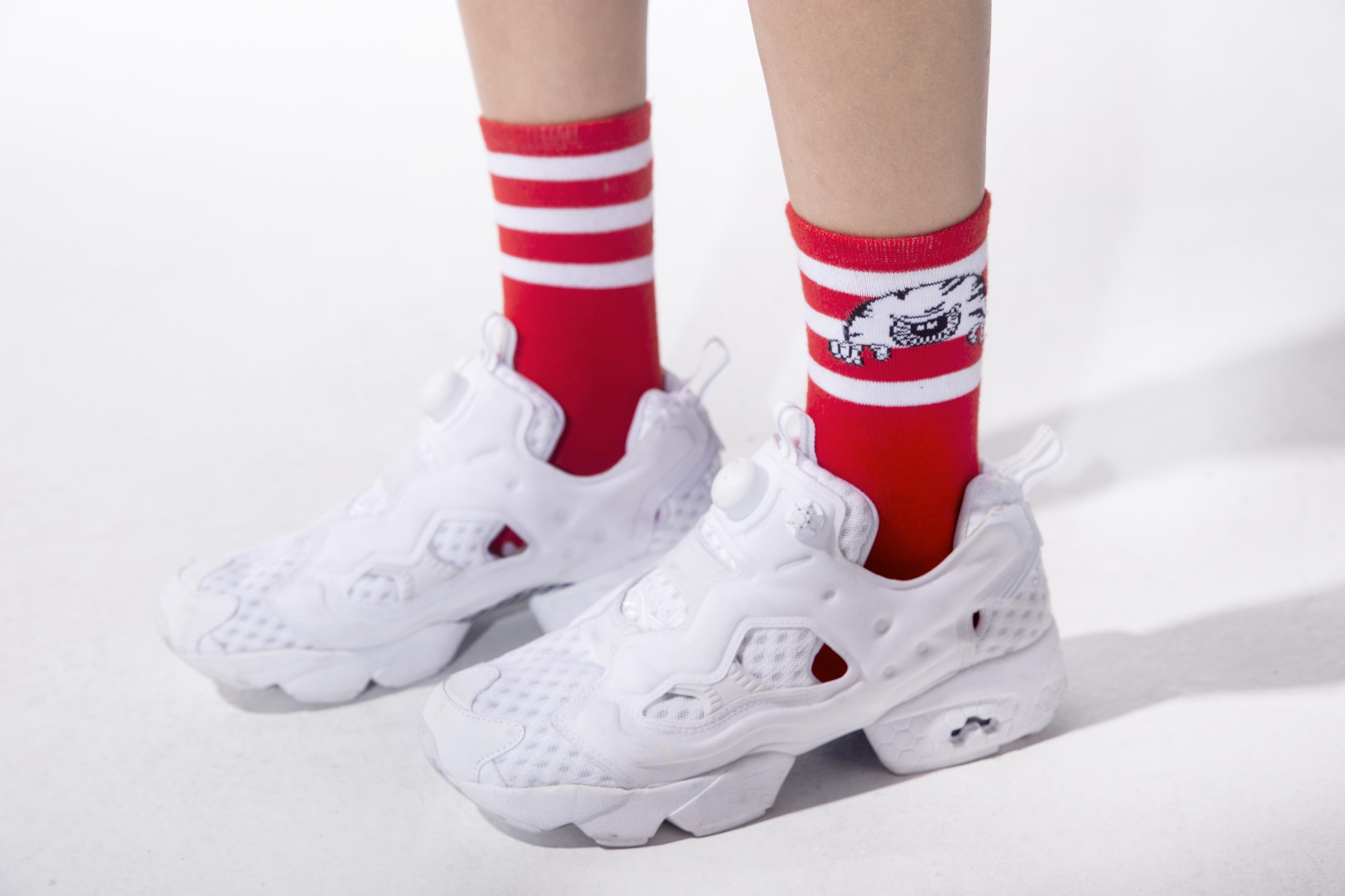 Peek-A-Boo Keep Watch Socks