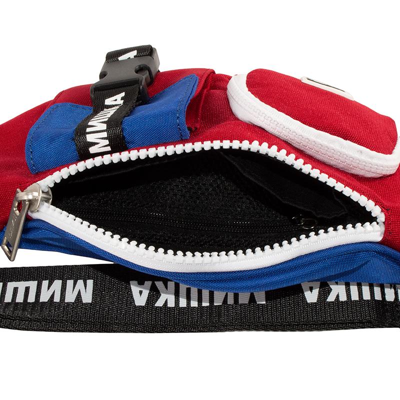 Keep Watch Multi Pocket Waist Bag