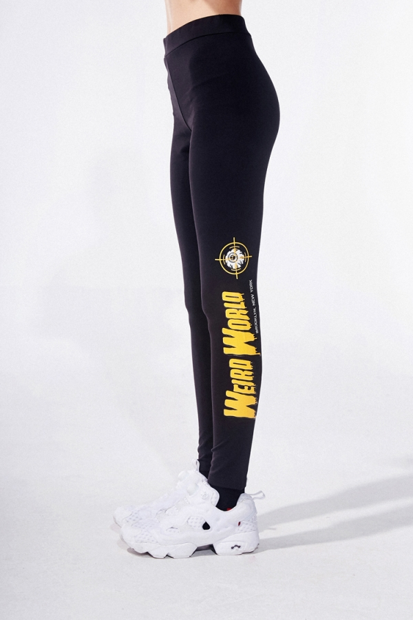 Weird World Keep Watch Leggings