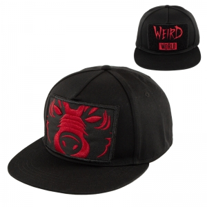 DA Weird World Velcro Patch Snapback