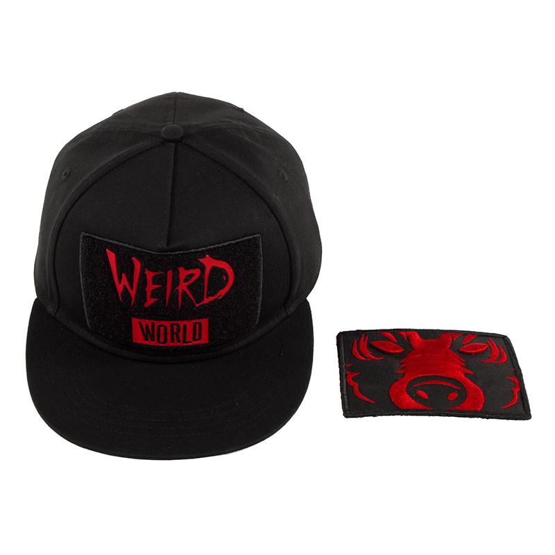 DA Weird World Velcro Patch Snapback