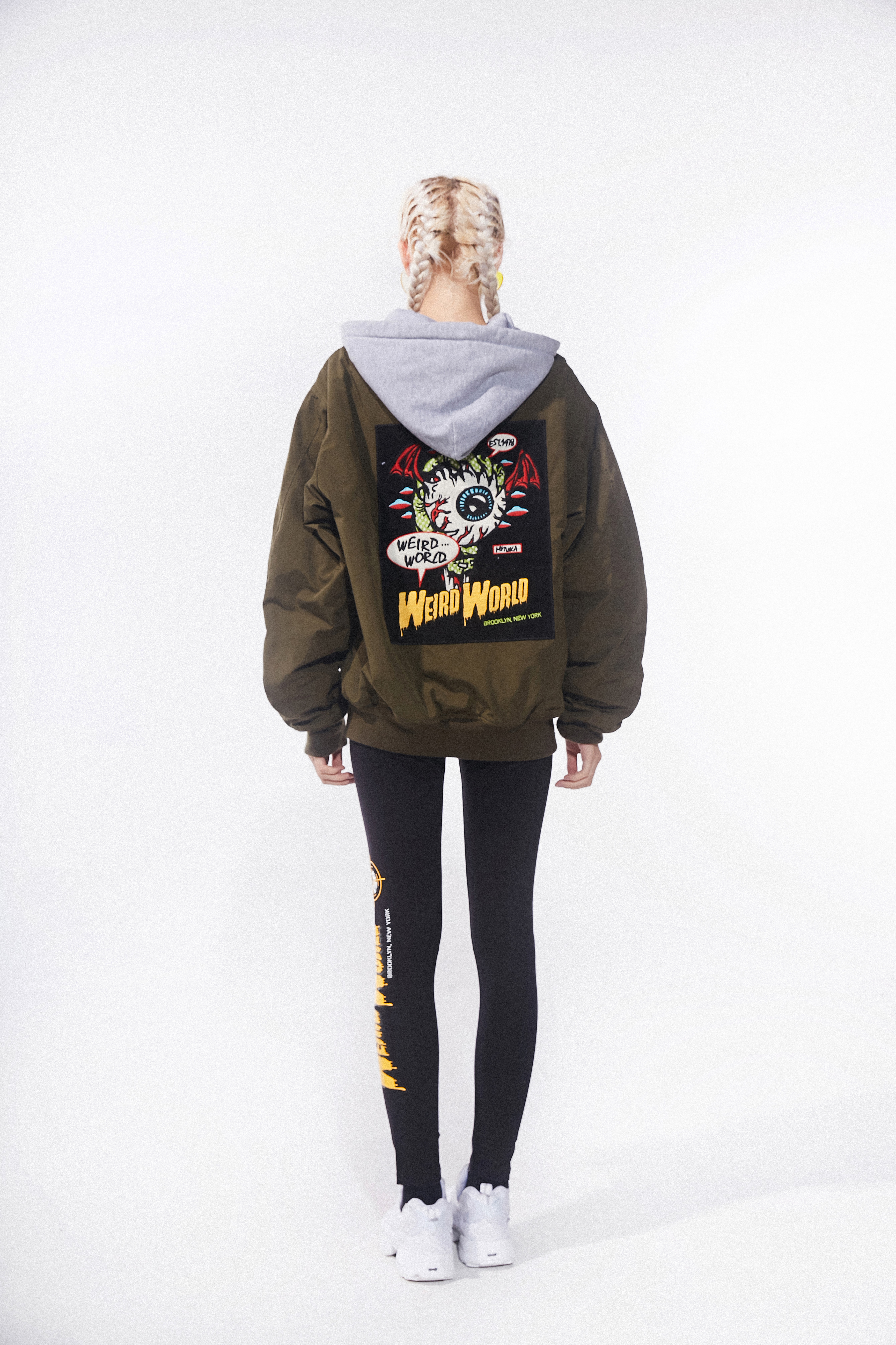 Lamour Weird World Women's Hooded Jacket