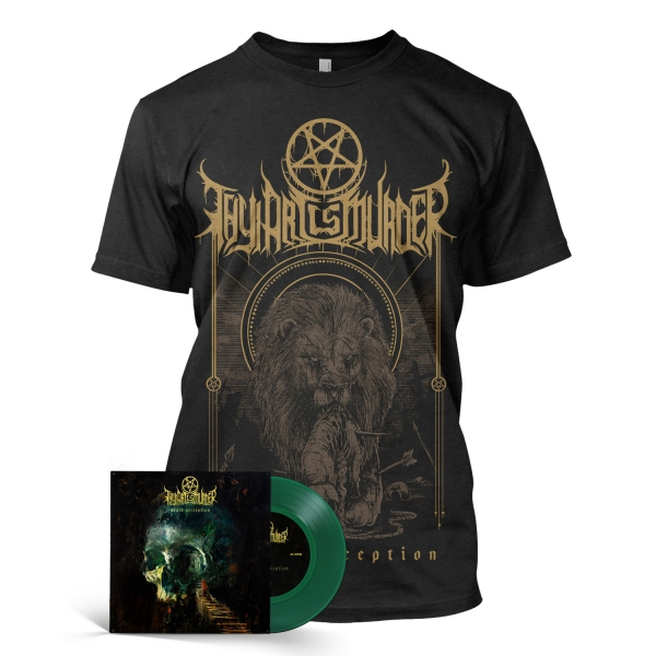 "Death Perception  Green 7"" Shirt Bundle"