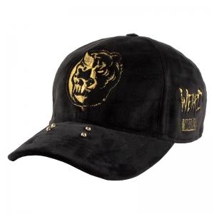 Split Icon Velour Strap Back Cap
