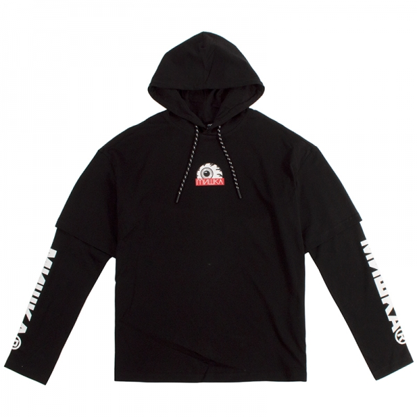 Keep Watch Logo Hooded Tee