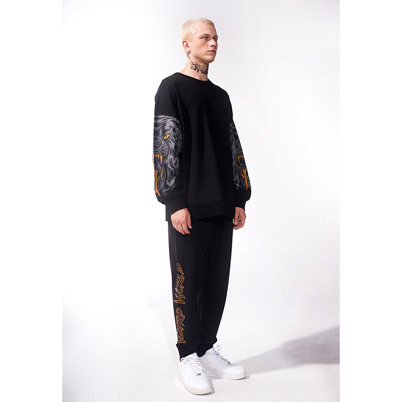 Lamour Death Adder Printed Sleeve Crew