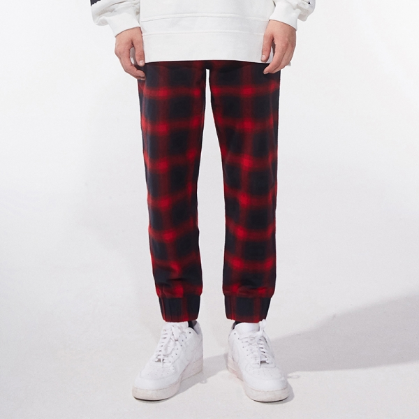 Inferno Plaid Jogger Pants