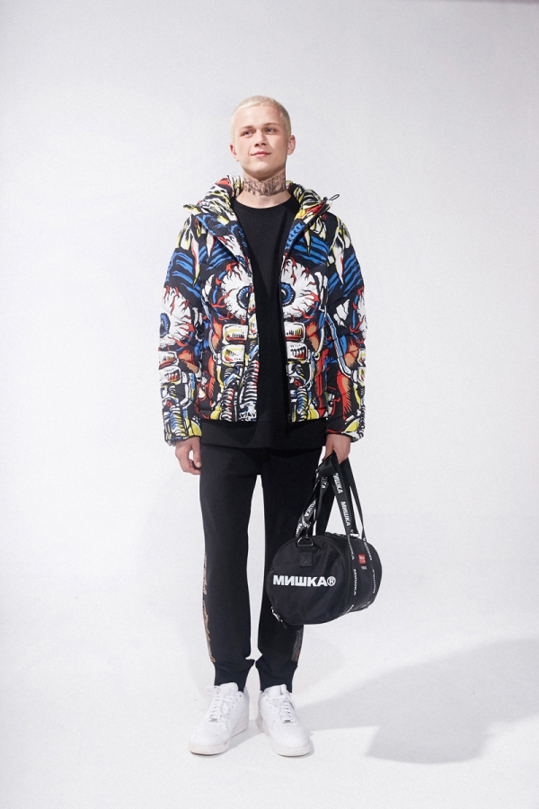 Lamour Outlaw Full Print Puffy Jacket