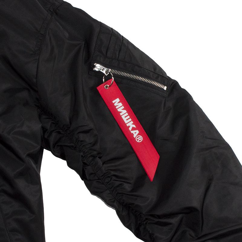 Lamour Split Icon Camo-Hooded Flight Jacket
