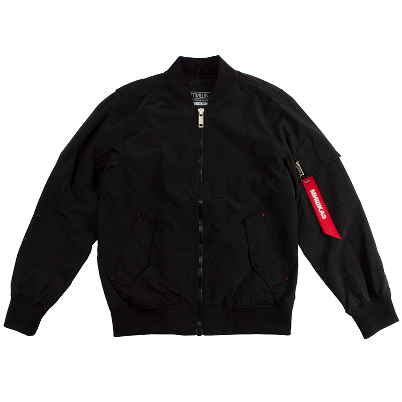 Death Adder Blacked Out Grey-Hooded Jacket