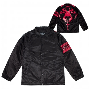 DA Weird World Nylon Quilted Coaches Jacket