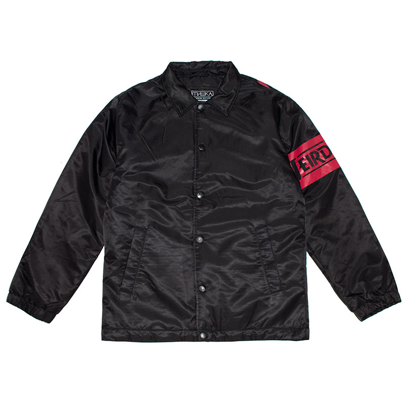 DA Weird World Nylon Quilted Coaches Jacket