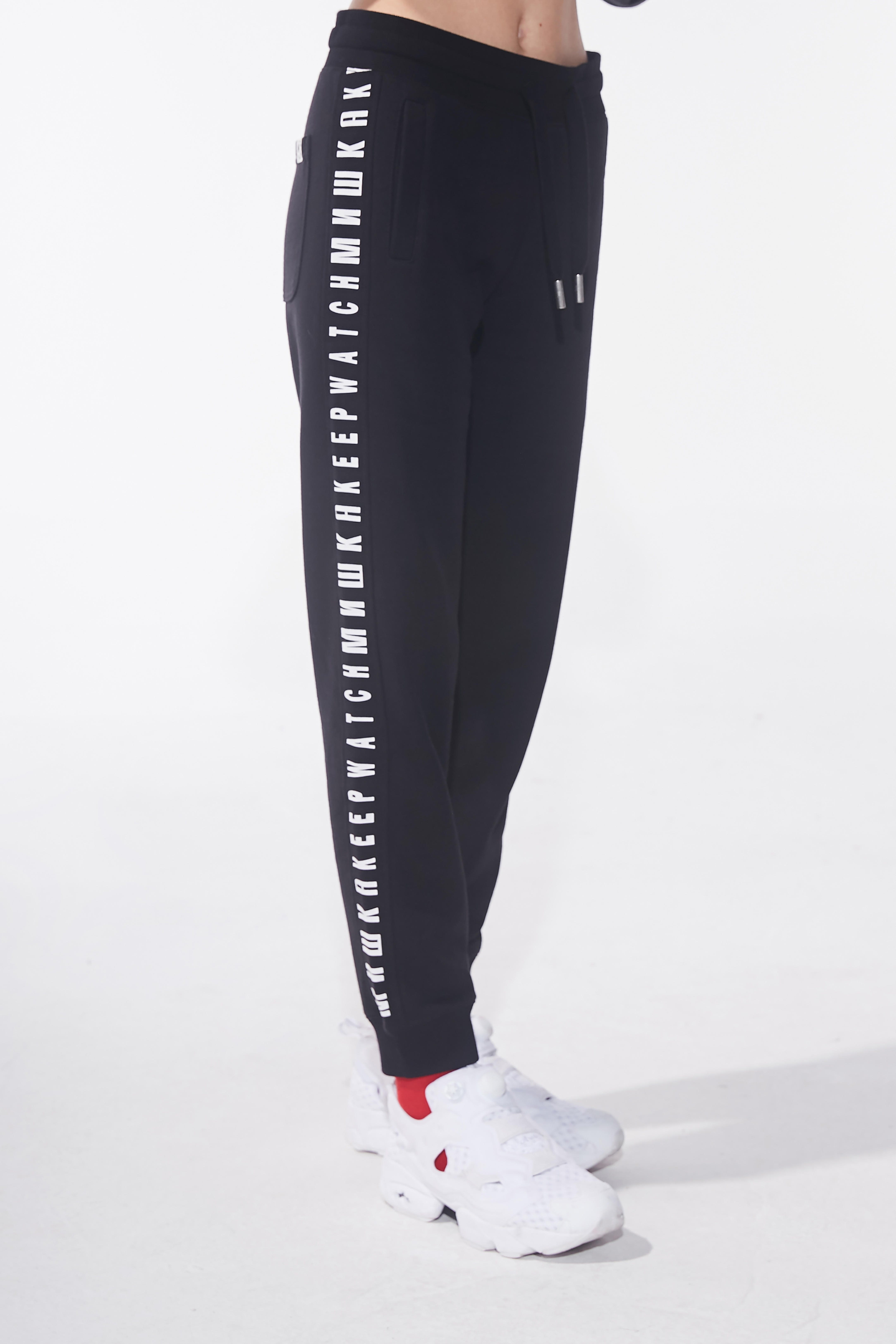 Women's Cyrillic Keep Watch Sweatpants