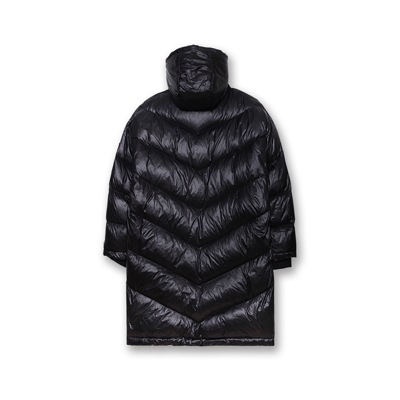 Mummy Quilted Death Adder Long Puffy Coat