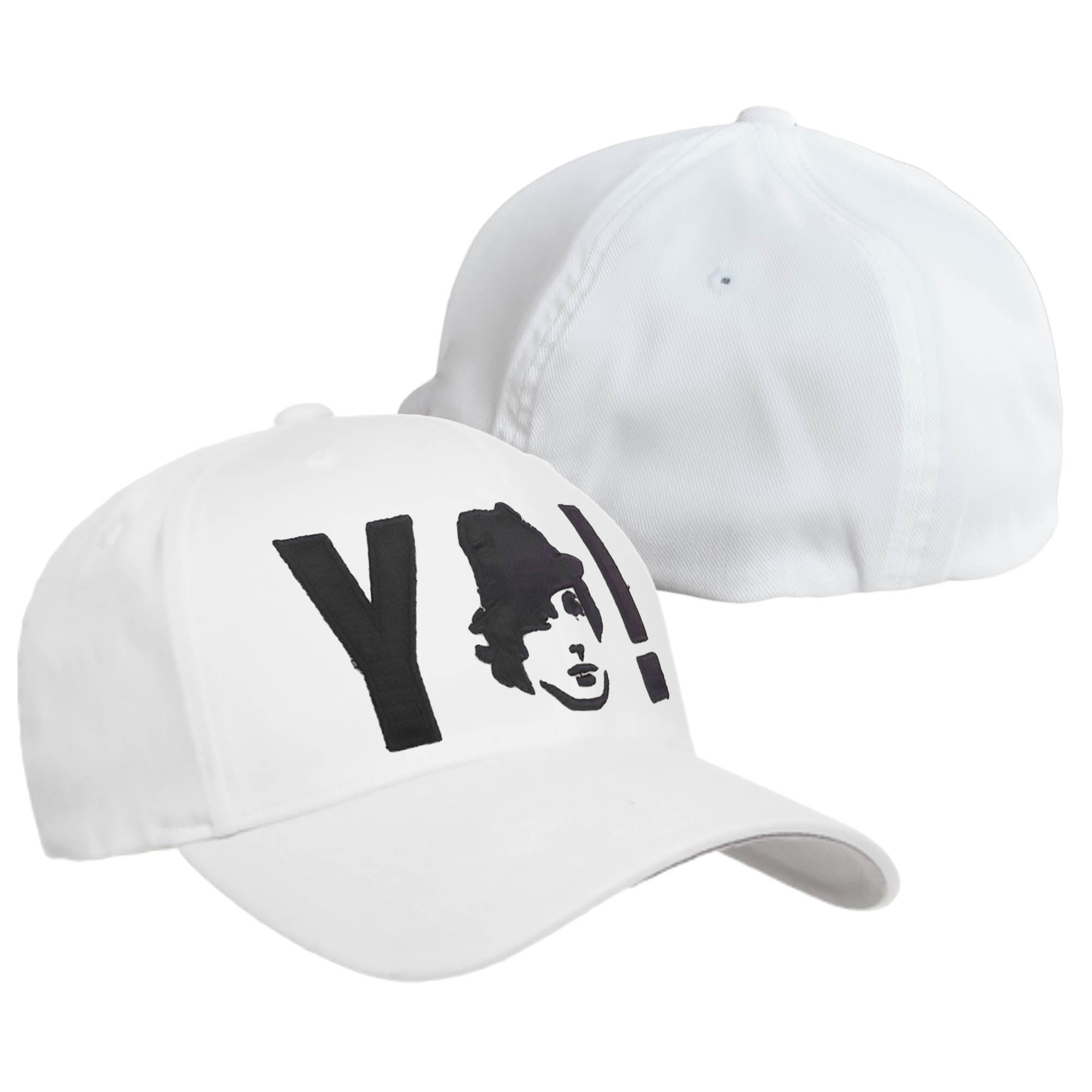 YO! White Flexfit Hat