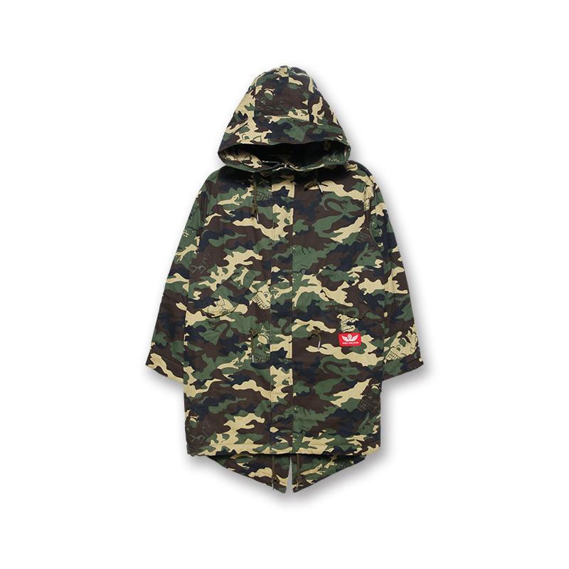 Cyco-Camo Fishtail Jacket