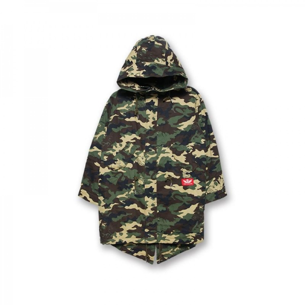 Cyco-Camo Fishtail Jacket