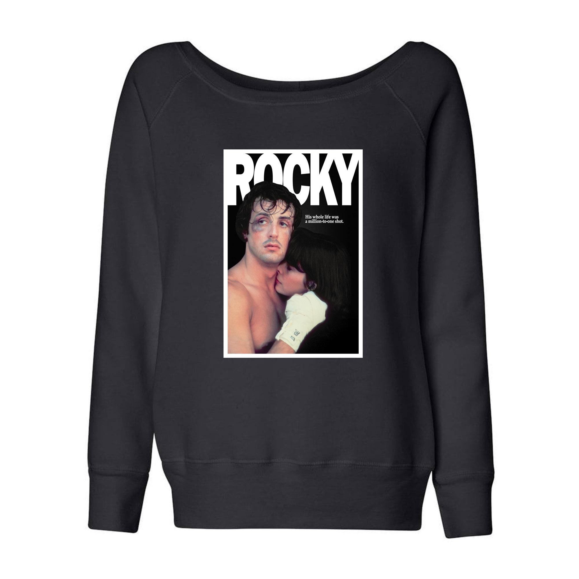 Rocky & Adrian Wideneck Sweatshirt