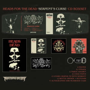 Serpent's Curse CD Boxset (Death Metal)