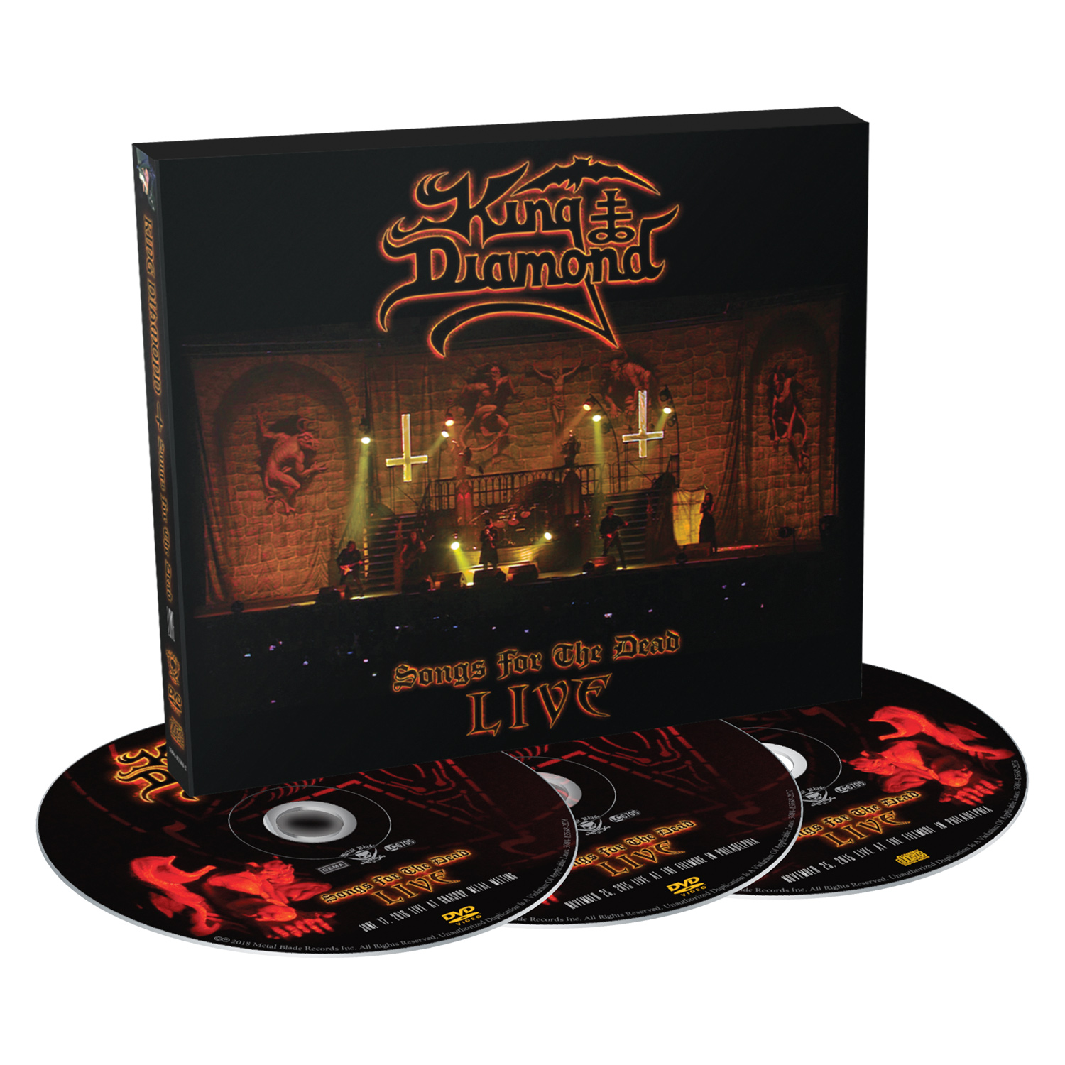 Songs for the Dead Live - DVD Bundle