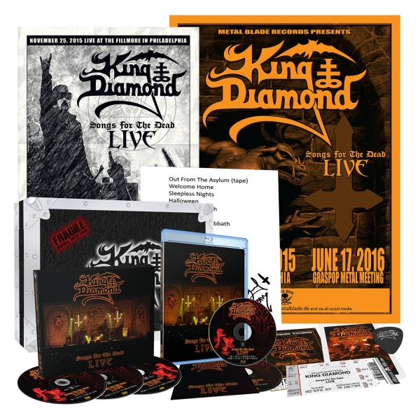 Songs for the Dead Live (Box Set)