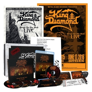 Pre-Order: Songs for the Dead Live (Box Set)