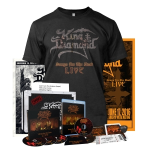 Pre-Order: Songs for the Dead Live - Box Set Bundle