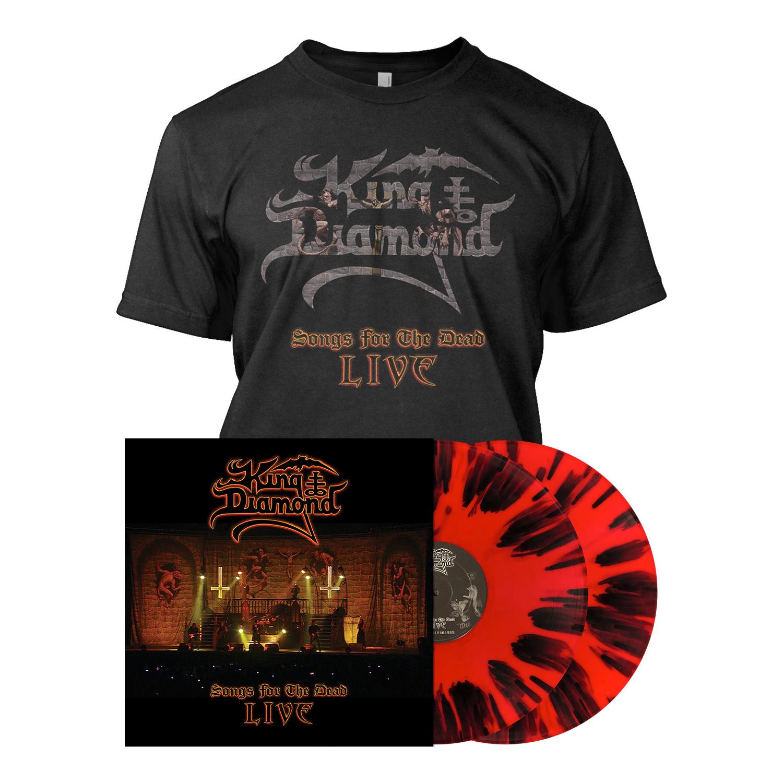 Songs for the Dead Live - LP Bundle - Red Splatter
