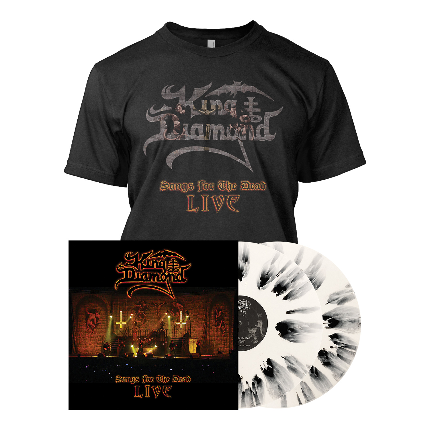 Songs for the Dead Live - LP Bundle - White Splatter