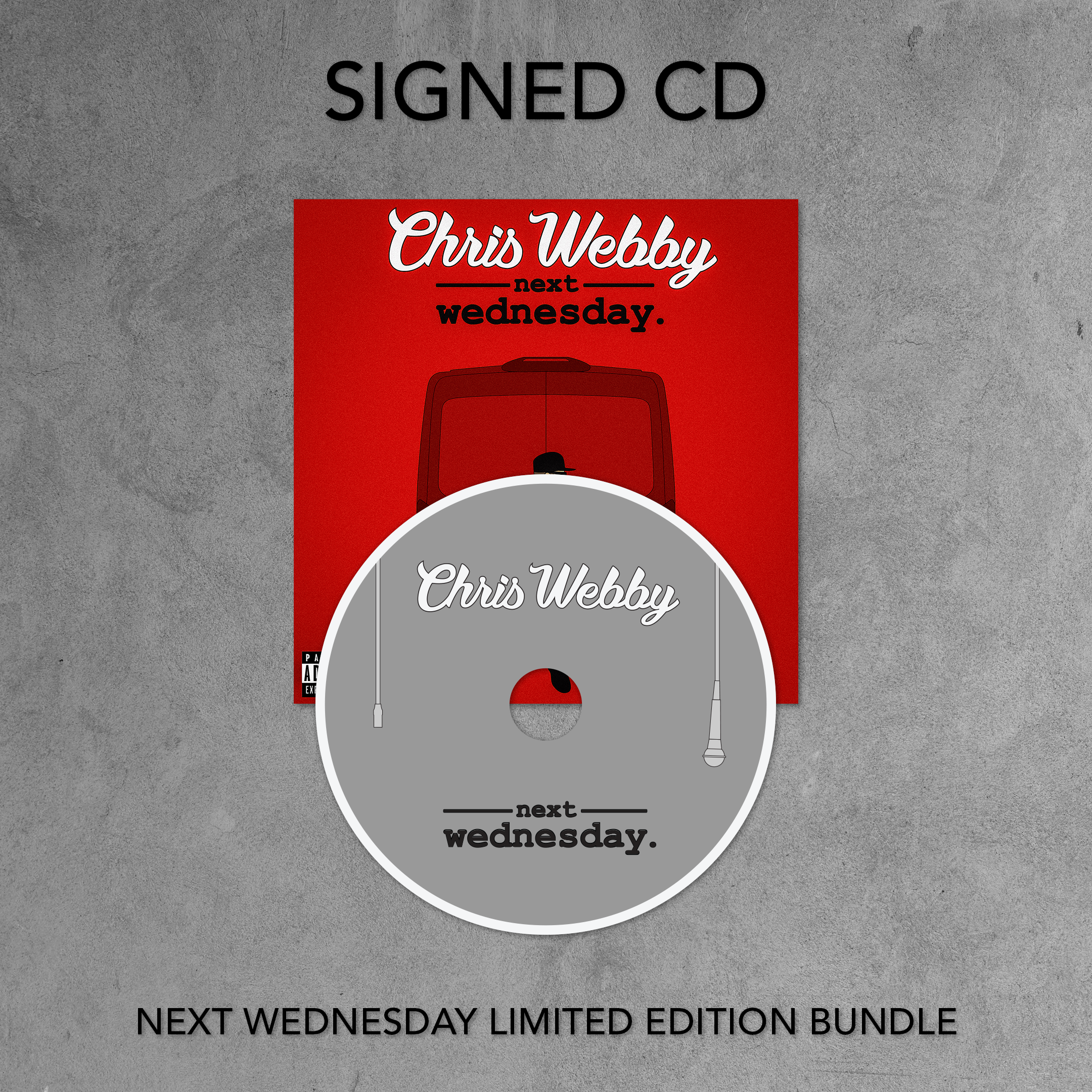 Next Wednesday Signed CD