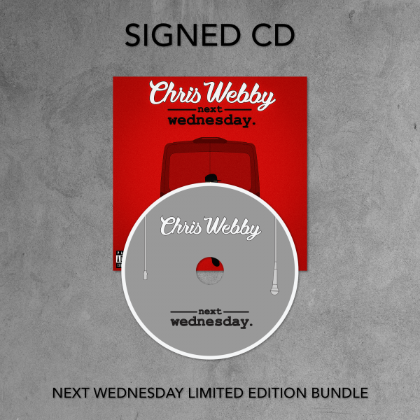 Next Wednesday Signed CD