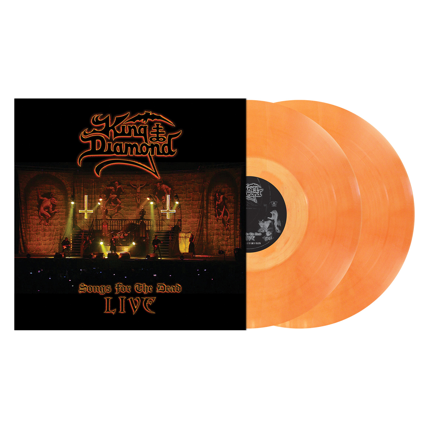 Songs for the Dead Live - LP Bundle - Pale Orange