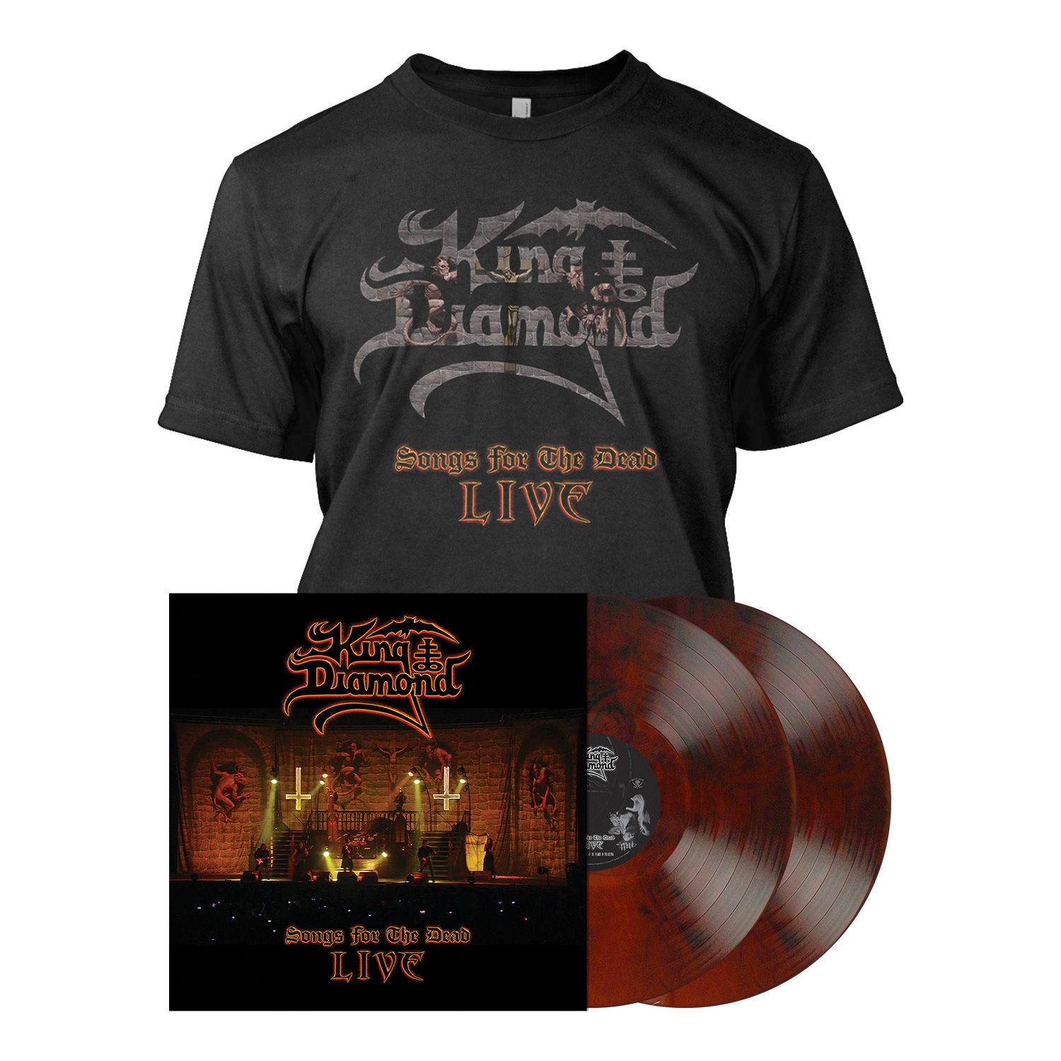 Songs for the Dead Live - LP Bundle - Root Beer