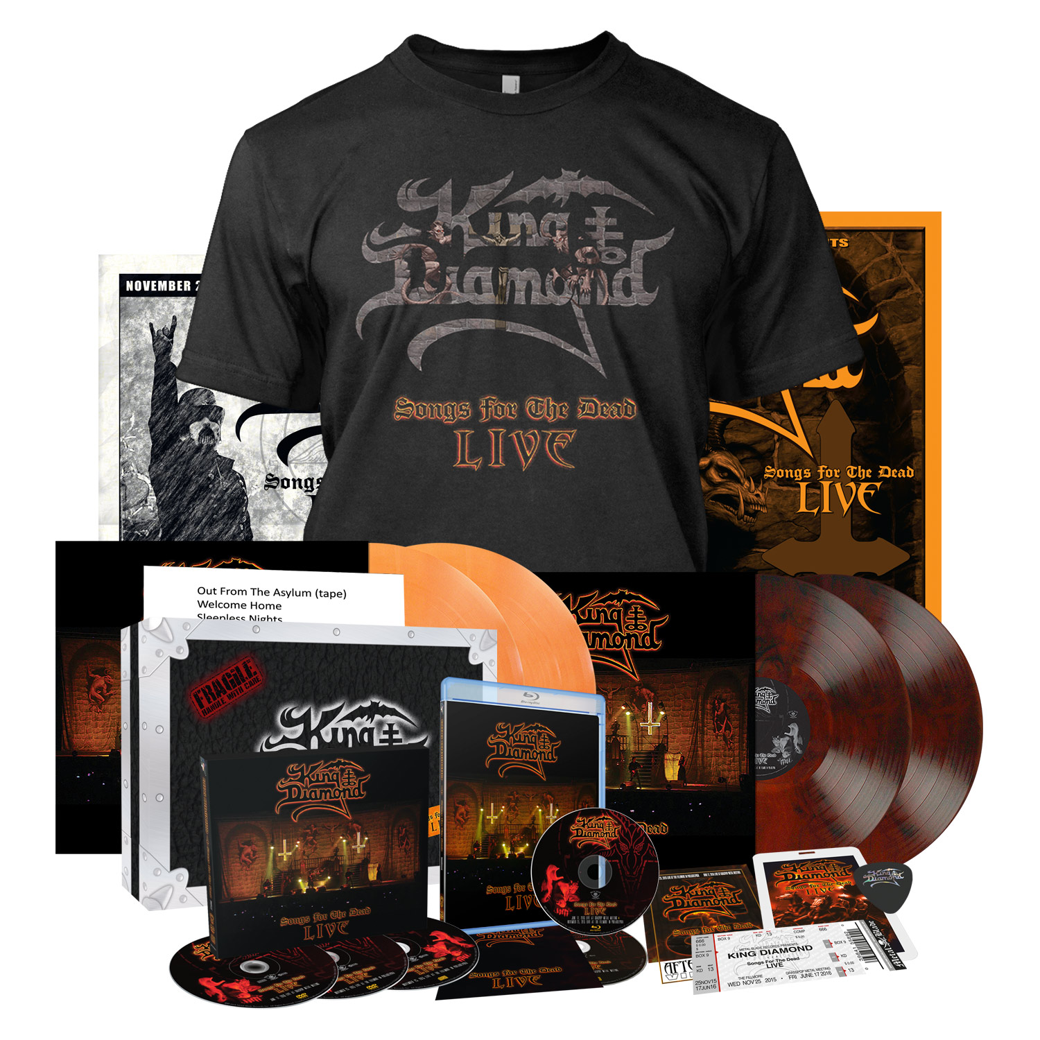 Songs for the Dead Live - Import Collectors Bundle