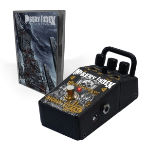 Pre-Order: Misery Index TightMetal Jr Pedal + Rituals Of Power Cassette Bundle