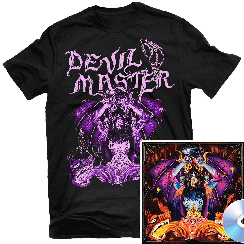 Satan Spits on Children of Light T Shirt + CD Bundle